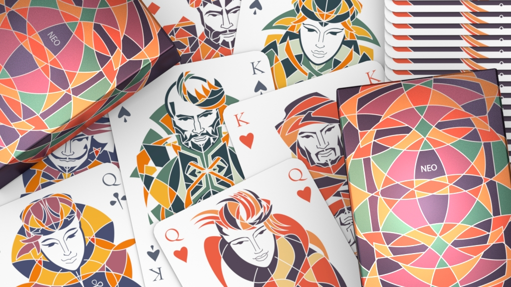 NEO playing cards